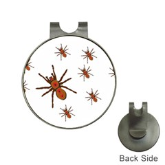 Insect Spider Wildlife Hat Clips With Golf Markers