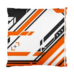Abstract Art Pattern Standard Cushion Case (two Sides) by Vaneshart