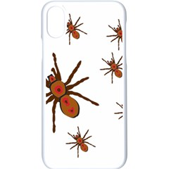 Insect Spider Wildlife Iphone Xs Seamless Case (white)