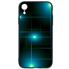 Light Shining Lighting Blue Night Iphone Xr Soft Bumper Uv Case by Alisyart