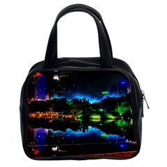 Night City Classic Handbag (two Sides)