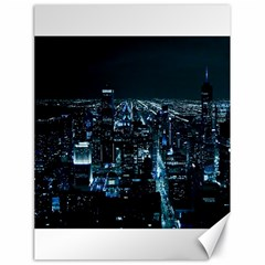 Building Night City Canvas 18  X 24