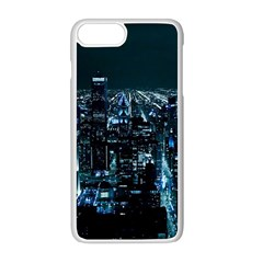 Building Night City Iphone 8 Plus Seamless Case (white)