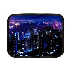 Night City Dark Netbook Case (small) by Vaneshart