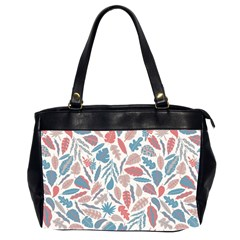 Leaves Art Pattern Oversize Office Handbag (2 Sides) by Vaneshart