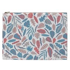 Leaves Art Pattern Cosmetic Bag (xxl) by Vaneshart