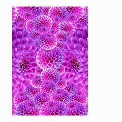 Nature Blossom Plant Flower Purple Petal Bloom Pattern Pollen Pink Flora Flowers Dahlia Design Beaut Small Garden Flag (two Sides)