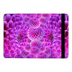 Nature Blossom Plant Flower Purple Petal Bloom Pattern Pollen Pink Flora Flowers Dahlia Design Beaut Samsung Galaxy Tab Pro 10 1  Flip Case