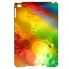 Abstract Sunlight Flower Reflection Color Macro Floating Yellow Circle Macro Photography Spheres Oil Apple Ipad Mini 4 Black Uv Print Case