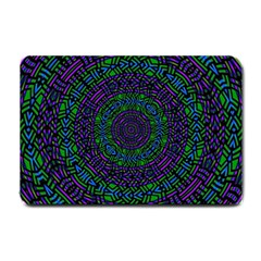 Texture Pattern Line Colorful Circle Art Background Design Decorative Symmetry Style Shape  Small Doormat