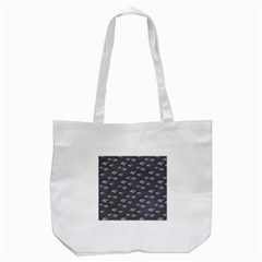 Sushi Pattern Tote Bag (white) by bloomingvinedesign