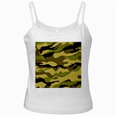 Fabric Army Camo Pattern Ladies Camisoles