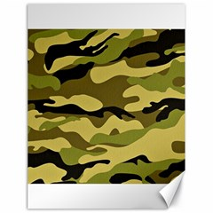 Fabric Army Camo Pattern Canvas 18  X 24