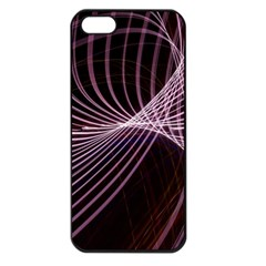 Light Sunlight Spiral Flower Line Color Electricity Circle Lightpaint Symmetry Shape  Macro   Iphone 5 Seamless Case (black)