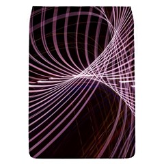 Light Sunlight Spiral Flower Line Color Electricity Circle Lightpaint Symmetry Shape  Macro   Removable Flap Cover (s)