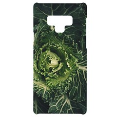 Plant Leaf Flower Green Produce Vegetable Botany Flora Cabbage Macro Photography Flowering Plant Samsung Note 9 Black Uv Print Case