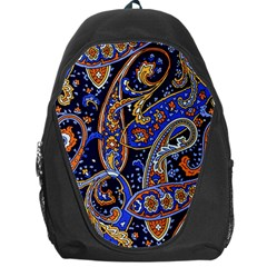 Vintage Retro Texture Decoration Pattern Color Circle Ornament Art Design Bright Symmetry Style  Backpack Bag by Vaneshart