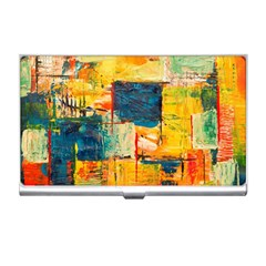 Abstract Painting Acrylic Paint Art Artistic Background Business Card Holder