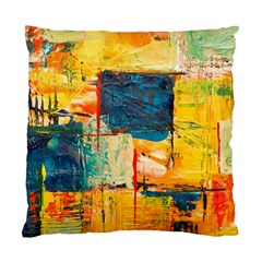 Abstract Painting Acrylic Paint Art Artistic Background Standard Cushion Case (two Sides)
