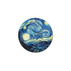 Starry Night Golf Ball Marker (4 Pack) by Vaneshart