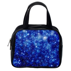 Blurred Star Snow Christmas Spark Classic Handbag (one Side) by HermanTelo