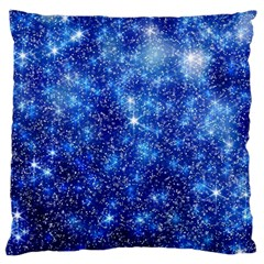 Blurred Star Snow Christmas Spark Large Cushion Case (two Sides)
