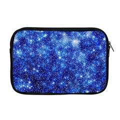 Blurred Star Snow Christmas Spark Apple Macbook Pro 17  Zipper Case by HermanTelo