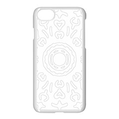 Circle Vector Background Abstract Iphone 7 Seamless Case (white)