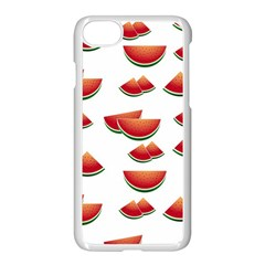 Summer Watermelon Pattern Iphone 7 Seamless Case (white)