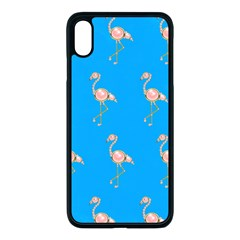 Flamenco Birds Exotic Nice Pink Iphone Xs Max Seamless Case (black) by Mariart