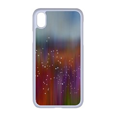 Background Geometry Star Iphone Xr Seamless Case (white)