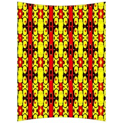 Red Black Yellow 9 Back Support Cushion