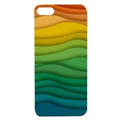 Background Waves Wave Texture Apple Iphone 7/8 Tpu Uv Case