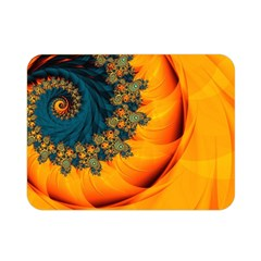 Art Artwork Fractal Digital Art Double Sided Flano Blanket (mini)