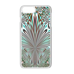 Crystal Design Crystal Pattern Glass Iphone 7 Plus Seamless Case (white) by Wegoenart