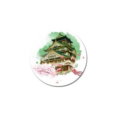 Osaka Castle Nagoya Castle Kumamoto Castle Golf Ball Marker (10 Pack) by Vaneshart
