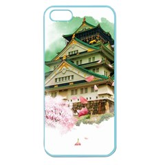 Osaka Castle Nagoya Castle Kumamoto Castle Apple Seamless Iphone 5 Case (color)