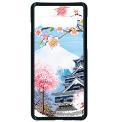 Japan National Cherry Blossom Festival Japanese Samsung Galaxy S10 Seamless Case(black)
