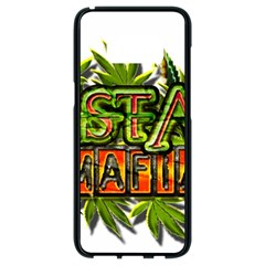 Cannabis Hemp Hashish Illegal Drug Trade Rasta Samsung Galaxy S8 Black Seamless Case