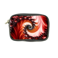Abstract Fractal Patterns Red Coin Purse