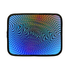 Abstract Circles Lines Colorful Netbook Case (small)