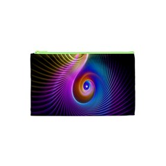 3d Abstract Fractal Bright Cosmetic Bag (xs)