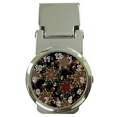 Patterns Abstract Flowers Money Clip Watches