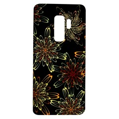 Patterns Abstract Flowers Samsung Galaxy S9 Plus Tpu Uv Case
