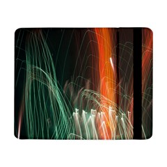 Fireworks Salute Sparks Abstract Lines Samsung Galaxy Tab Pro 8 4  Flip Case by Vaneshart
