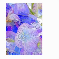 Flowers Abstract Colorful Art Large Garden Flag (two Sides)