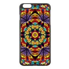 Geometric Pattern Kaleidoscope Art Mirror Image Mosaic Iphone 6 Plus/6s Plus Black Enamel Case