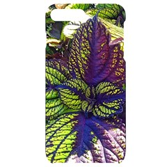 Dark Coleus Iphone 7/8 Plus Black Uv Print Case by Riverwoman