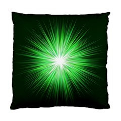 Green Blast Background Standard Cushion Case (two Sides)