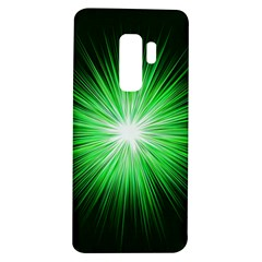 Green Blast Background Samsung Galaxy S9 Plus Tpu Uv Case by Mariart